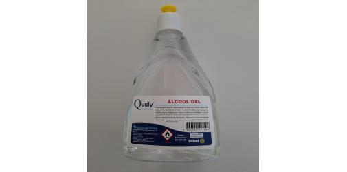 Álcool Gel 500ml - Qualy